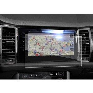 RUIYA Car Screen Protector For Kodiaq Columbus 9.2 Inch 2017 2018 Navigation Display Screen Auto Interior Stickers Accessories(China)