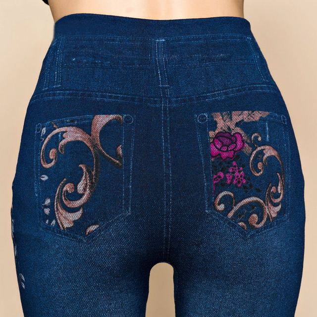 Flower Printed Jeggings 6