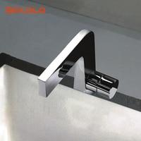 BAKALA New Brass Chrome Sink Faucet Mixer Tap Basin Faucet F8102