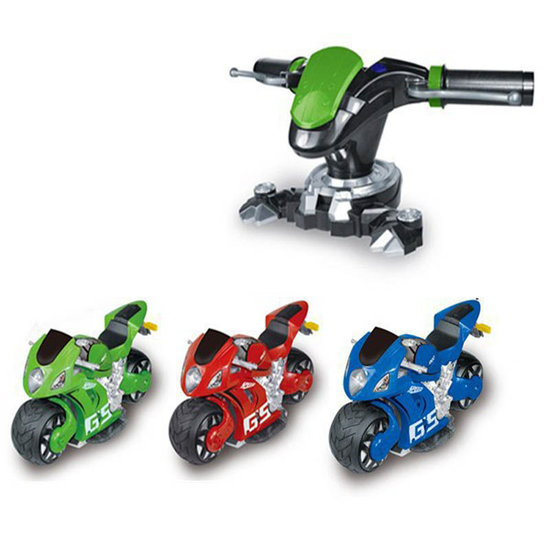 4D RC Motorcycle Toys Rechargeable Simulation Of Steering Wheel 4 Colors Two Wheeled Remote Control Toy Drift Dumpers RC11(1) hot sell a6 4d gravity induction rc remote control motorcycle electronic toy cars rechargeable drift dumpers promotional gifts
