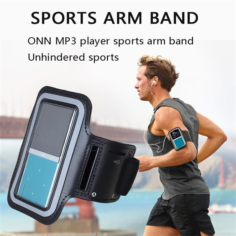Running Armband Sport Leather Armband Case Cover for Ipod nano 4th 5th ONN RUIZU BENJIE MP3 Player hot sales free shipping