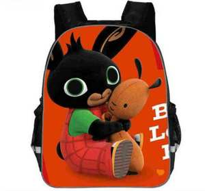 KKABBYII Anime Print School Children Book Bag Baby Backpack