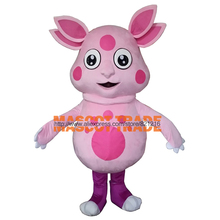 Gran oferta de disfraz de Mascota de tamaño adulto de dibujos animados Luntik, disfraz de Mascota de Animal, envío gratis