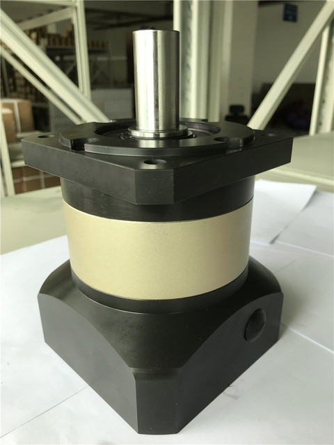 6 arcmin חסכוני פלנטריים תיבת הילוכים מפחית 3:1 10:1 עבור דלתא 130mm AC סרוו מנוע קלט פיר 22mm