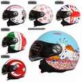 2016 marca Tankedracing retro hombres mujeres cascos de motocicleta vintage casque moto cross four season cascos alemanes