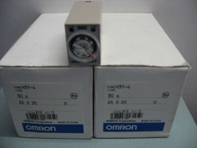 [ZOB] New original authentic OMRON Omron relay H3Y-4 30S DC24V --5PCS/LOT brand new original authentic brs15b
