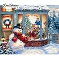 Diamond Embroidery Santa Christmas Tree DIY Diamond Painting Cross Stitch Picture Rhinestones Full Square Diamond Mosaic RS370