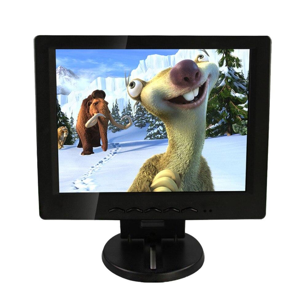 HONEPRT Nouveau 10 Pouces ou 12 Pouces led Affichage écran tactile Moniteur Support USB, VGA, DVI, DC interface pour Cuisine, Chambre, Hôtels