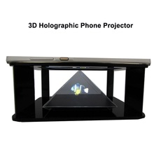 3D holographic phone projector displayer 3d screen naked eye 3d tool