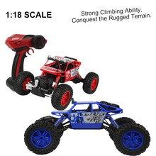 Высокое Качество 1/18 2.4 ГГЦ 4WD Радио Пульт Дистанционного Управления Off Road RC Автомобиль ATV Багги Monster Truck Подарок Для Детей Бесплатно доставка