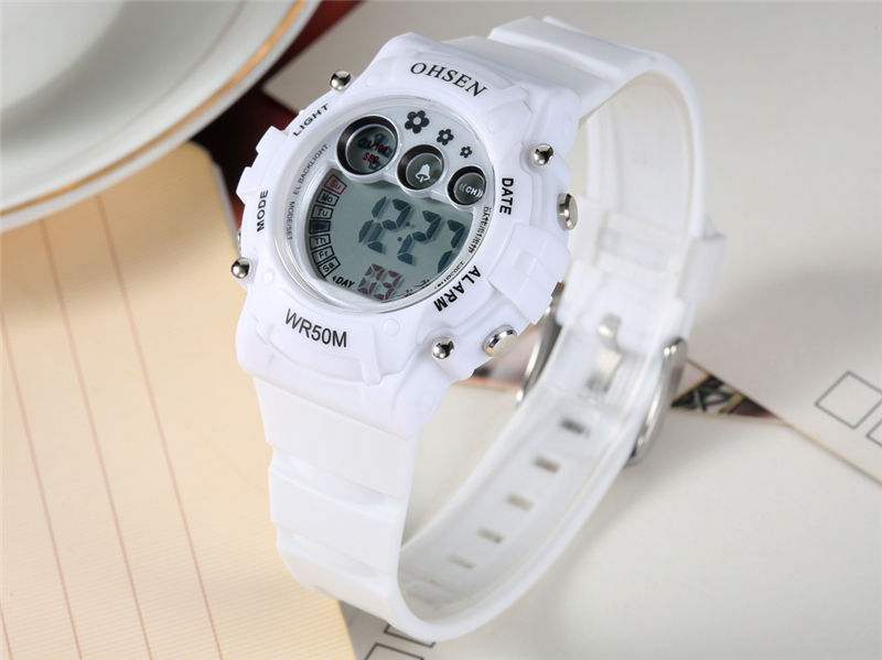 New Ohsen Unisex Watch Fashion Casual Watches Relogio Masculino Students Sports For Men Women Water Resistant Alarm Wristwatches (28)