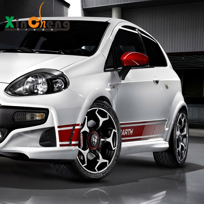 Decorative garland abarth modified car stickers for Fiat Bravo / Palio Car Styling