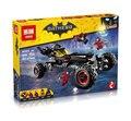 Nova Lepin 07045 das 559 Pcs Genuína Série de Filmes de Super-heróis Batman Robbin Móvel Definir Blocos de Construção de Tijolos Brinquedos 70905