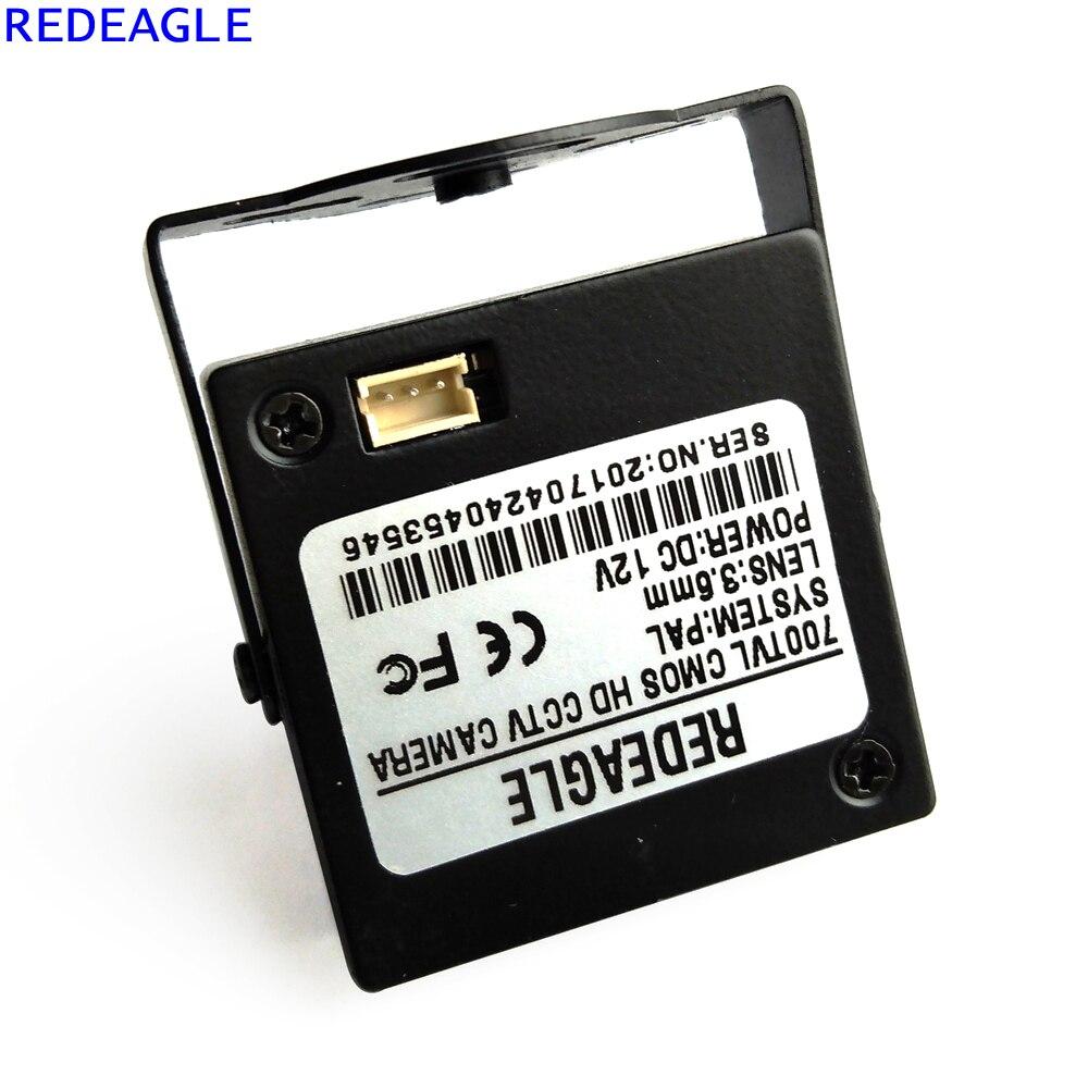 Image 3 - REDEAGLE 700TVL CMOS przewodowa Mini kamera do monitoringu cctv z metalowym korpusem obiektyw 3.6MMsecurity cameracctv security cameracctv security -