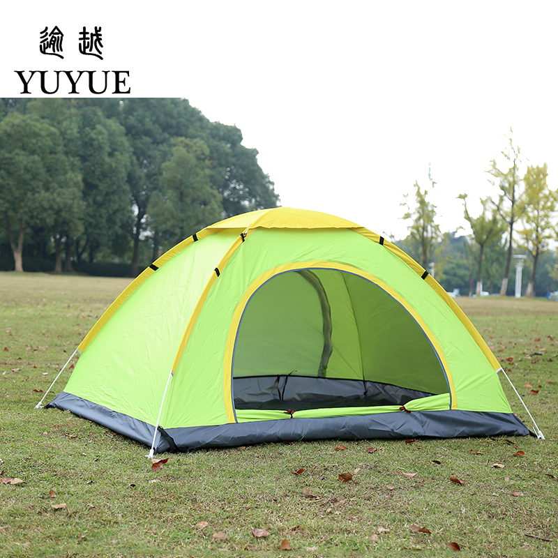 3-4 person tent quick automatic opening outdoor camping tourism pop up outdoor camping tent for hiking family tent  3