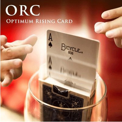 Tours de magie O. R. C. (Optimale Carte Rising) Magicien Ultime Hausse Carte Magie D'étape