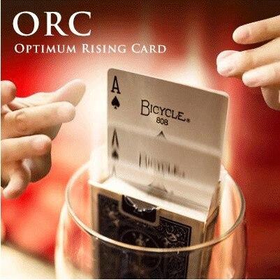 매직 트릭 o. r. c. (최적 상승 카드) 마술사 궁극적 인 상승 카드 무대 매직-에서요술 속임수부터 완구 & 취미 의  그룹 1
