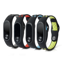 ALANGDUO Replacement Straps For Original Xiaomi mi band 2 Silicone