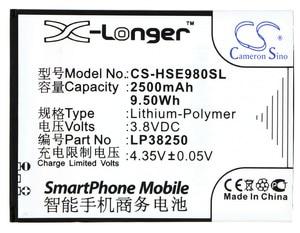 Image 1 - بطارية Cameron Sino , بطارية ، 2500 مللي أمبير ، LP38250 ، لهيسنس ، EG980 ، Mira II ، T978 ، T980 ، U978 ، U980