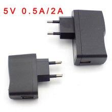 Universal micro usb 100v 240 v ac para dc 5 v 0.5a 2a 500ma 2000ma adaptador de alimentação fonte carregador parede saída de comutação eua ue plug