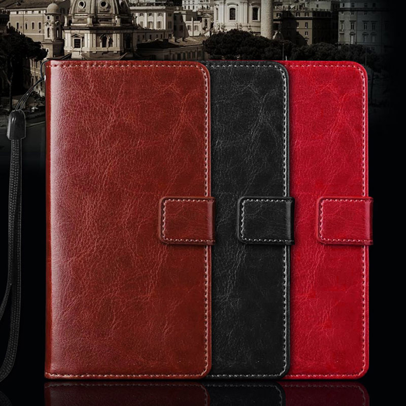 Case For Huawei Honor 7A 7X 7i 7C Pro 6C 6A 6X 5A 5C 5X 4C Pro 8 9 10 Lite Cover PU Leather Retro Flip Wallet Stand Phone Case in Flip Cases from Cellphones Telecommunications