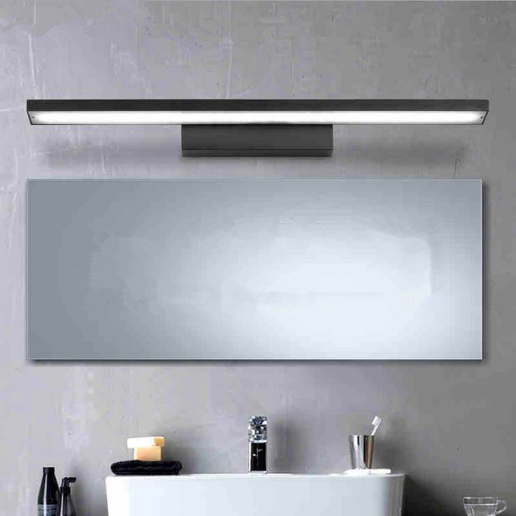 ФОТО 8W Modern Simple Aluminum LED Mirror Front Light For Bedroom Bathroom Wall Light High Quality LED Wall Lamp