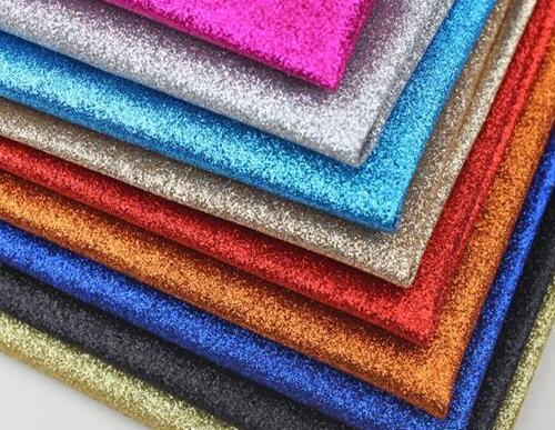 100x130 cm Glitter Arc-En-Pu Faux Cuir Tissu Rembourrage de Meubles, chaussures Holographique Telas Tapiceria Canapé Simili Cuir Tissus