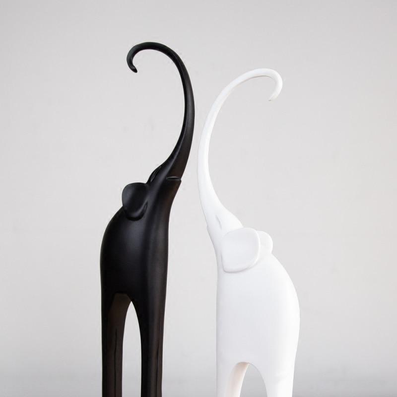 Ornements décor à la maison éléphant salon artisanat moderne minimaliste maison intérieur chambre ameublement chambre personnalité WL5151009