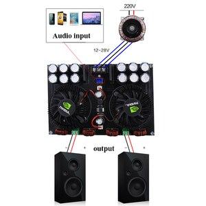 Image 2 - Lusya TDA8954TH Dual core Digitale audio Eindversterker Boord 420W * 2 streo Versterker met ventilator voor 2 8ohm speaker b5 002