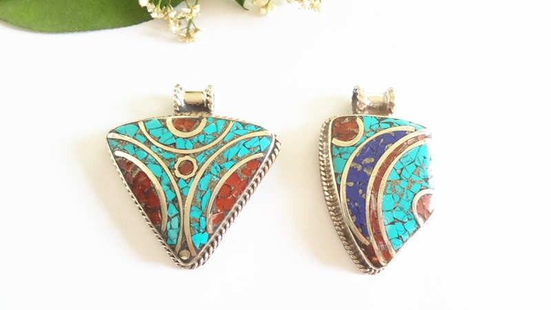 nepal hand metal pendants 158 (6)