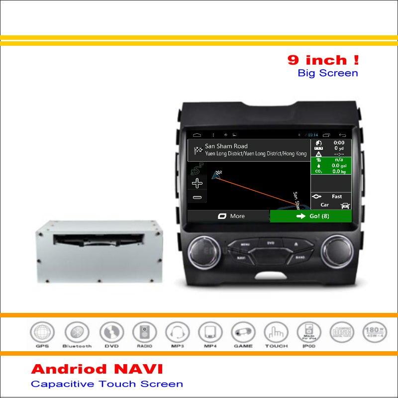 Coche Android Sistema de Navegación GPS de Navegación Navi Para Ford Edge 2015 ~