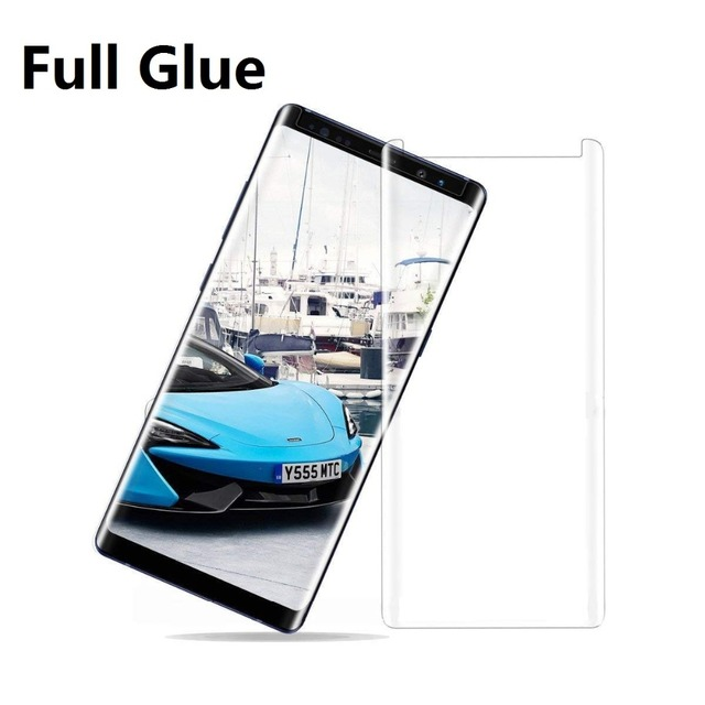 Full Glue For Samsung Galaxy Note 9 Note8 Tempered Glass for Samsung Galaxy S8 S9 Plus Note 8 Glass Adhesive Screen Protector
