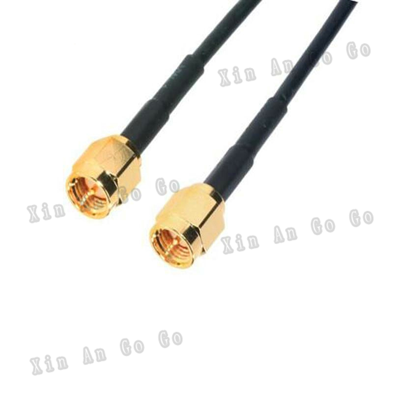 RF Coaxial cable SMA to SMA connrctor SMA male to SMA male RG174 pigtail cable 15cm or other Fast ship