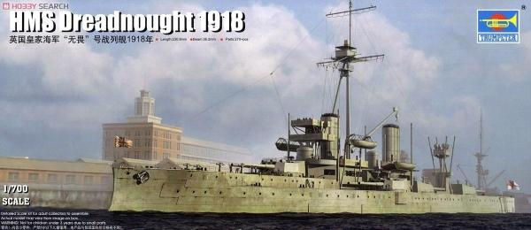 Trumpet 06706 1:700 British fearless battleship 1918 Assembly model trumpeter ships model 05316 german pocket battleship graf spey