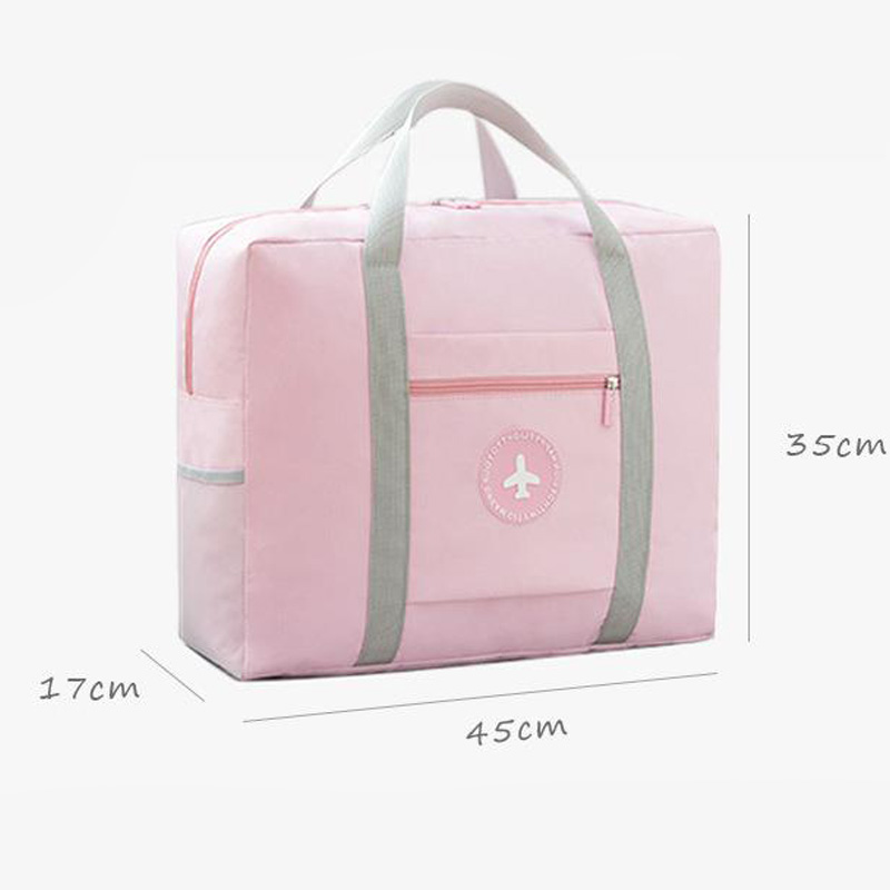 Hot Sale Fashion Women 39 s Travel Bags Luggage Organizer on The Suitcase Duffle Bag Folding Packing Cubes Travel Bag Hand Luggage in Travel Bags from Luggage amp Bags