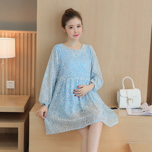 Maternity Women Dress For Pregnant Women A line Maternity Photography Dresses Nursing Clothes BB14