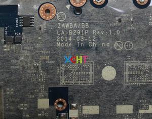 Image 4 - Lenovo B50 45 5B20G37250 w E1 6010 CPU ZAWBA/BB LA B291P Laptop Anakart Anakart için Test