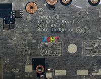 w mainboard האם עבור Lenovo B50-45 5B20G37250 w E1-6010 מעבד ZAWBA / BB LA-B291P Mainboard האם המחשב הנייד נבדק (4)