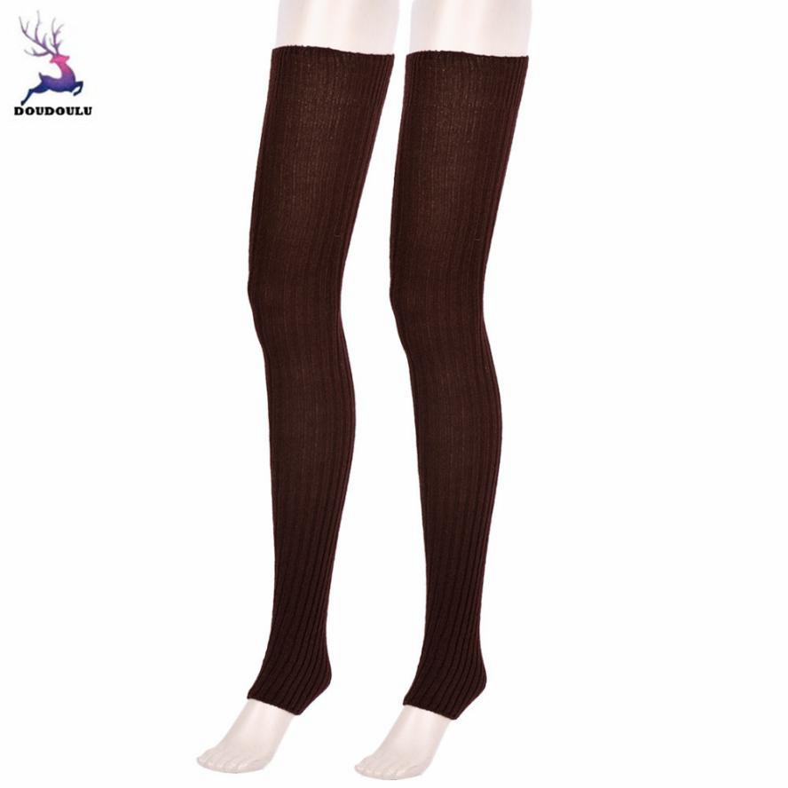 in stock new arrival professional sale US $4.82 48% OFF|DOUDOULU Female leggings above the knees Women's Over Knee  Socks Leg Warmers kanten beenbes chermers Drop shipping-in Leg Warmers ...