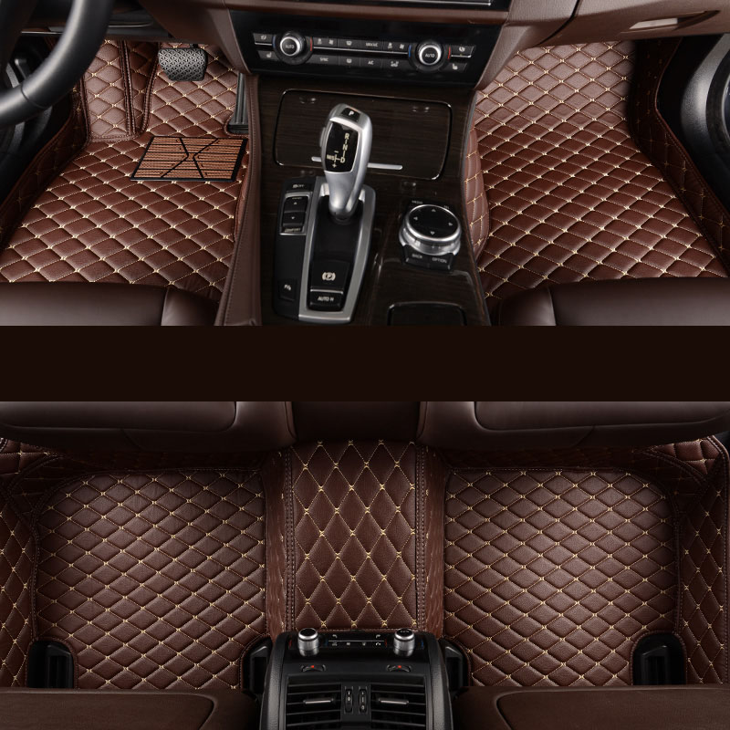 kalaisike Custom car floor mats for Audi all model a6 c7 a5 q3 tt cc a3 8v a4 b7 b8 b9 q7 q5 car styling car accessories цена