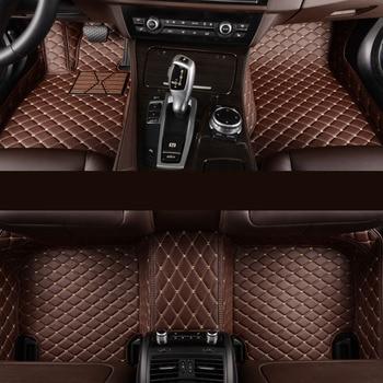 kalaisike Custom car floor mats for Audi all model a6 c7 a5 q3 tt cc a3 8v a4 b7 b8 b9 q7 q5 car styling car accessories