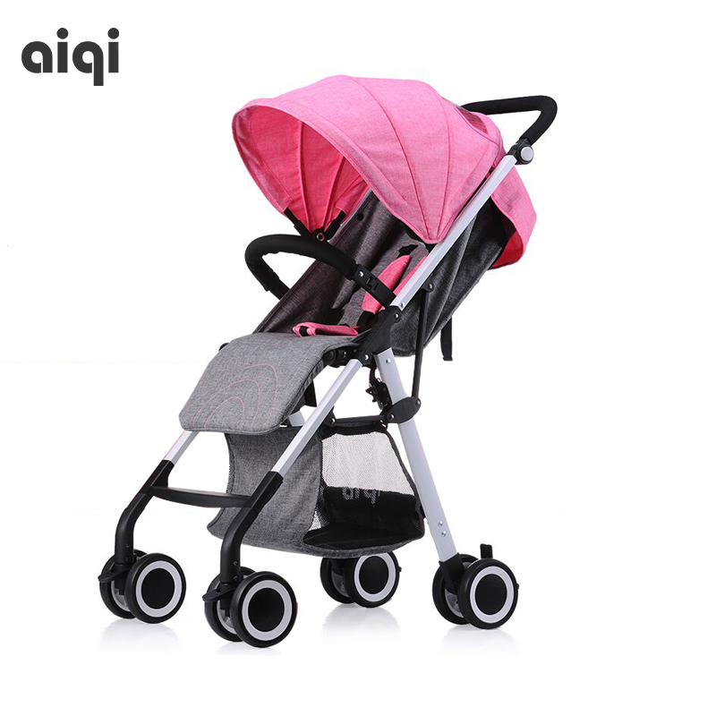 Super light baby stroller high landscape baby pram free gifts send 4 colors in stock hk free high quality export baby twin stroller purple 4 colors in stock four season use twin kids baby car