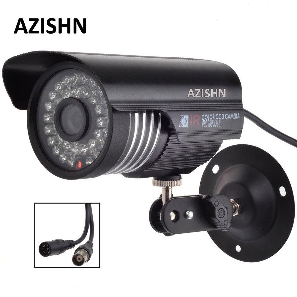 AZISHN NEW CMOS 700TVL/1000TVL  IR-CUT Filter Indoor/Outdoor Waterproof 36pcs IR Home Video Surveillance Security CCTV Camera