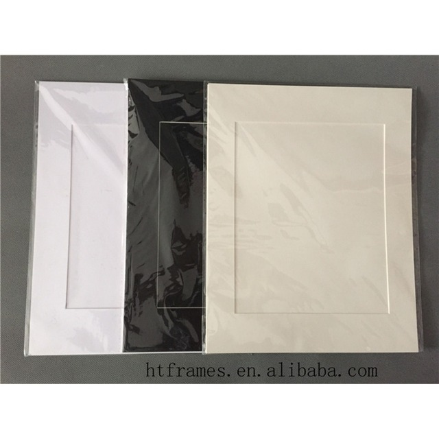 Acid Free 11x14 Cardboard Photo Frame For 8x10 Pictures Paper