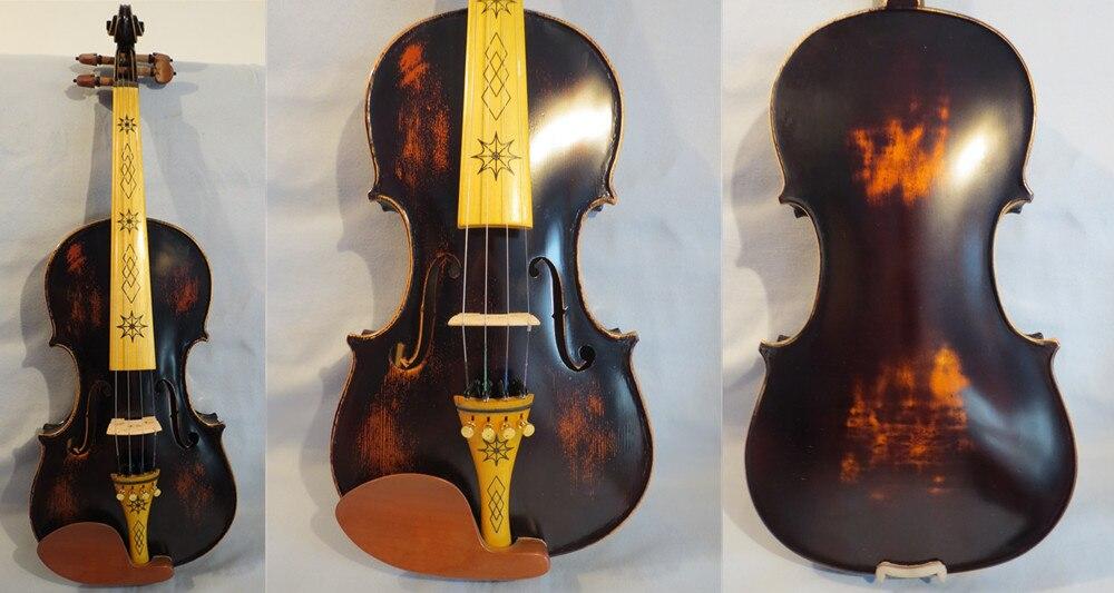 New 20pcs Full Size 4//4 Violin Parts Good Maple Wood Violin Baroque Bridge