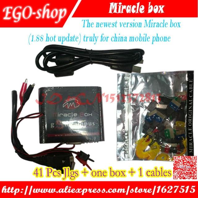2016 NEW Original Miracle box  for china mobile phone Unlock+ Flash +Repairing unlock box Free shipping
