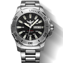 Yelang V5.1 kelpy мужские Дайвинг 300 м Водонепроницаемый T100 Тритий двойной календарь автоматические механические наручные часы с ETA 2836 Движение