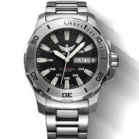 YELANG V5 1 KELPY Mens Diving 300m Waterproof T100 Tritium Dual Calender Automatic Mechanical Wrist Watch