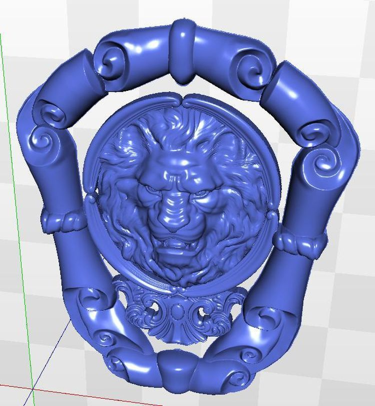 relief for cnc in STL file format artcam model 3d Kartush_003 cnc panno face 1 in stl file format 3d model relief for