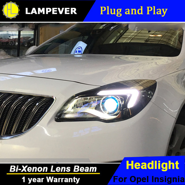 Online Shop For Buick New Regal headlights GS Style Opel Insignia ...